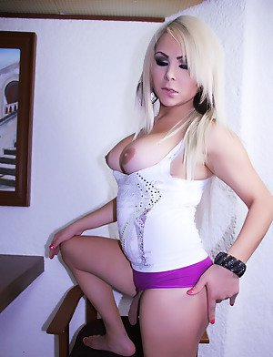 Blonde Shemale Porn